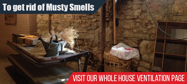 To Get Rid Of Musty Smells